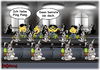 Cartoon: Ping Pong (small) by karicartoons tagged china,ehe,fabrik,fabrikarbeit,fließbandarbeit,heiraten,mißverständnis,ostereier,osterhase,ping,pong