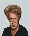 Cartoon: Al Pacino (small) by AkinYaman tagged al,pacino