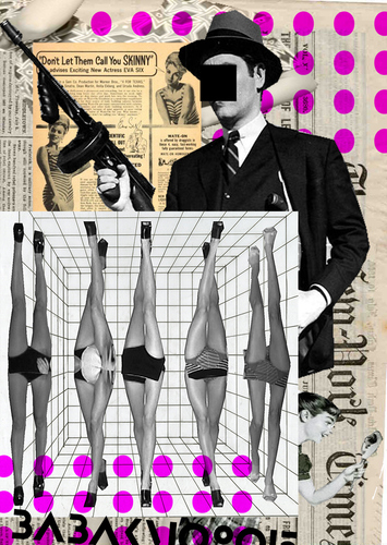 Cartoon: Digital Collage (medium) by Babak Mo tagged fashion,dada,art,babakmo,babak,mo,collage,digital,modern