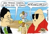 Cartoon: Receives (small) by doumas tagged receives,belege,papakonstantinou,greece,greek,hellas,hellenic