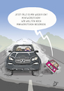 Cartoon: SUV (small) by Dodenhoff Cartoons tagged raser,großkarossen,suvs,gelaendewagen,tempolimit,autogroessen,ps,motorenblock,zylinder,abgase,schadstoffemissionen,straßenverkehr,geschwindigkeit,rempler