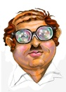 Cartoon: my art work (small) by Amal Samir tagged portrait,painting,drawings,caricaturist