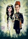 Cartoon: Wedding (small) by Amal Samir tagged wedding,poster,drawings,digital