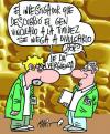 Cartoon: CIENTIFICO (small) by Mario Almaraz tagged dos,cientificos
