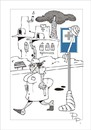 Cartoon: Traffic sign (small) by paraistvan tagged traffic,sign,hospital,nurse