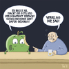 Cartoon: ... (small) by Tobias Wieland tagged appel,apfel,tresen,kneipe,verklagen,bier