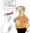 Cartoon: Gans bissig (small) by Marbez tagged gans,wächter,nasen