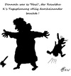 Cartoon: Roswitha K. 2 (small) by Marbez tagged roswitha,leben,veränderungen