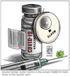 Cartoon: Covid19 Vaccine (small) by Burak Ergin tagged covid19