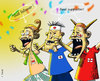 Cartoon: just followers! (small) by yan setiawan tagged world,cup,2010