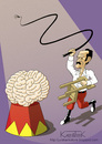 Cartoon: Dangerous Minds (small) by Jura Karikatura tagged dangerous,minds,brain,gehirn