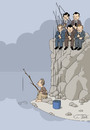 Cartoon: economy? (small) by Jura Karikatura tagged economy,the,new,world,order