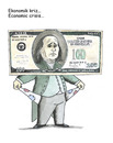 Cartoon: economic crisis (small) by emraharikan tagged economic,crisis
