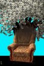 Cartoon: armchair prosperous (small) by Medi Belortaja tagged politics,politicians,chair,armchair,prosperous,corrupt,corruption,power,democracy,usd,dollars,rich,tree
