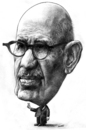 Cartoon: Mohamed ElBaradei (small) by Medi Belortaja tagged mohamed,elbaradei