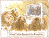 Cartoon: Feuersteins (small) by Riemann tagged history,cave,men,medieval,times,prehistoric,tv,science,fiction,steinzeit,mittelalter,geschichte,fernsehen