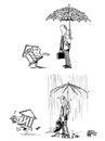 Cartoon: Rainy Day Funds (small) by halltoons tagged banks,eu,debt,europe,germany