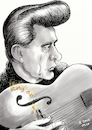 Cartoon: Johnny Cash Karikatur (small) by A Tale tagged johnny,cash,todestag,musiker,usa,sänger,songwriter,country,folk,rock,and,roll,porträt,portrait,gitarre,ring,of,fire,caricature,karikatur,cartoon,pressezeichnung,illustration,tale,agostino,natale