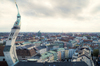 Cartoon: Verdreht (small) by A Tale tagged münchen,panorama,alter,peter,turm,innenstadt,architektur,surreal,photoshop,art