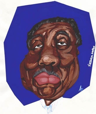 Cartoon: Muddy Waters (medium) by Andyp57 tagged caricature,gouache