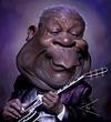 Cartoon: BB King (small) by besikdug tagged best,caricatures,besikdug,bb,king