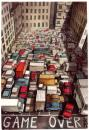 Cartoon: tetris (small) by matteo bertelli tagged tetris,traffic,illustration