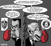 Cartoon: Cold war (small) by Xavi Caricatura tagged cold,war,usa,russia,bush,medvedev,georgia,caricature