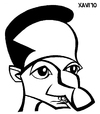 Cartoon: jojeyoImemymyself2010 (small) by Xavi Caricatura tagged xavier salvador xavi