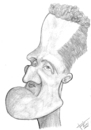 Cartoon: Michael Schumacher (small) by Xavi Caricatura tagged michael,schumacher,f1,car,speed