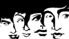 Cartoon: The Beatles (small) by Xavi Caricatura tagged the beatles art cartoon ringo starr john lennon paul mcartney george harrison
