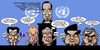 Cartoon: UN security council - Burma (small) by Xavi Caricatura tagged un,onu,george,bush,gordon,brown,sarkozy,vladimir,putin,ban,ki,moon,burma