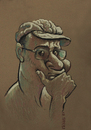 Cartoon: Self portrait (small) by Tarkibi tagged alireza tarkibi