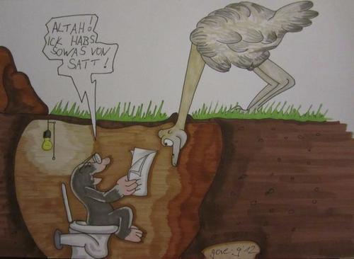 Guten Morgen τουτης Gore G φύση Cartoon Toonpool