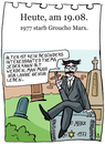 Cartoon: 19. August (small) by chronicartoons tagged groucho,marx,marxbrothers