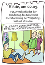 Cartoon: 22. März (small) by chronicartoons tagged volljährig,hotel,mama,teenager,chronicartoon