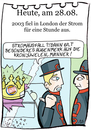 Cartoon: 28. August (small) by chronicartoons tagged stromausfall,london,kronjuwelen,queen