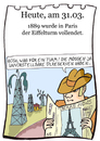 Cartoon: 31. März (small) by chronicartoons tagged eiffel eiffelturm öl ölbaron paris cartoon