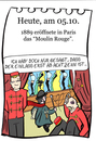 Cartoon: 5. Oktober (small) by chronicartoons tagged moulin,rouge,toulouse,lautrec,maler,cancan,paris