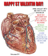 Cartoon: HAPPY ST VALENTIN (small) by ELCHICOTRISTE tagged st,valentin,love