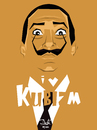 Cartoon: I love kubizm (small) by Martynas Juchnevicius tagged salvador dali cubism art artist people painter surealism spanish illustration