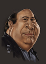 Cartoon: Danny DeVito Caricature (small) by Rey Esla Teo tagged caricature,digital,painting