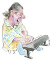 Cartoon: Chick Corea (small) by Ricardo Soares tagged jazz,music