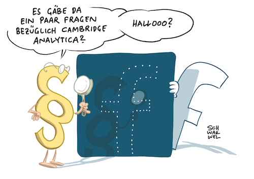 Cartoon: Datenskandal bei Facebook (medium) by Schwarwel tagged datenskandal,facebook,mark,zuckerberg,social,media,www,online,portal,portale,account,profil,gefällt,mir,like,likes,daten,datenfirma,cambridge,analytica,nutzerdaten,virtual,reality,tech,konzern,silicon,valley,wahlkampf,donald,trump,us,usa,amerika,america,president,präsident,wahl,datenschutz,datenschutzbehörde,techlash,plattform,internet,cartoon,karikatur,schwarwel,datenskandal,facebook,mark,zuckerberg,social,media,www,online,portal,portale,account,profil,gefällt,mir,like,likes,daten,datenfirma,cambridge,analytica,nutzerdaten,virtual,reality,tech,konzern,silicon,valley,wahlkampf,donald,trump,us,usa,amerika,america,president,präsident,wahl,datenschutz,datenschutzbehörde,techlash,plattform,internet,cartoon,karikatur,schwarwel