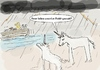 Cartoon: flood warning (small) by Toonopia tagged social,media