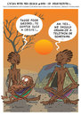 Cartoon: In Perspective (small) by etc tagged perspective,crisis,greece,africa,aid,telethon