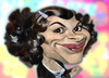 Cartoon: Audrey Tautou caricature (small) by KARKA tagged audrey,tautou,amelie