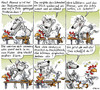Cartoon: Die Amtsanwärterin (small) by Ratte Ludwig tagged ratte,ludwig,huhn,gerda,massage,podiumsdiskusssion