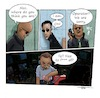 Cartoon: Falling down the rabbit hole (small) by tinotoons tagged matrix,morpheus,neo,tinotoons