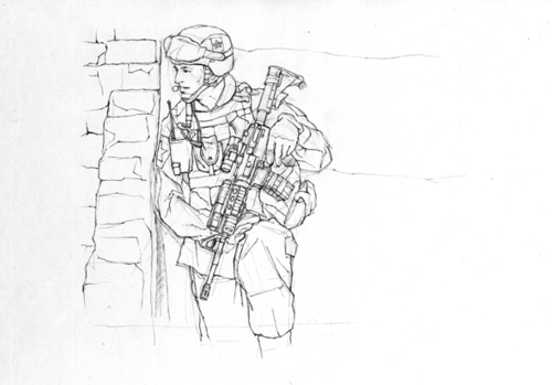 Cartoon: Soldiers (medium) by Leonluk tagged soldiers
