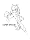 Cartoon: Super dragon (small) by Leonluk tagged super,dragon